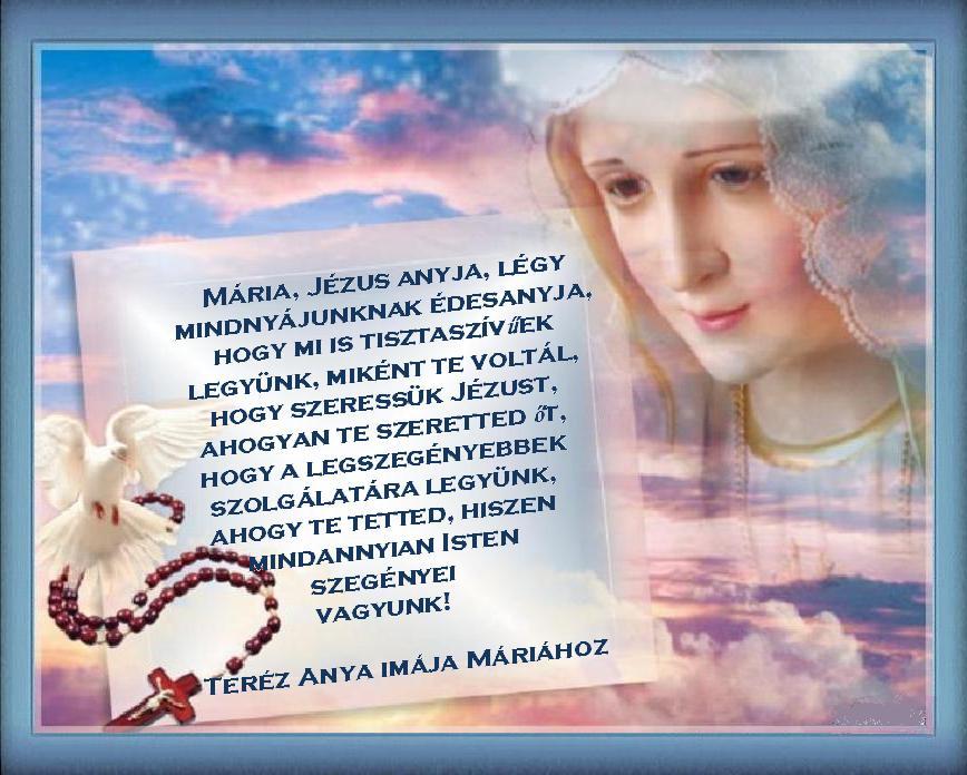 ima a szenthez, hogy lefogyjon