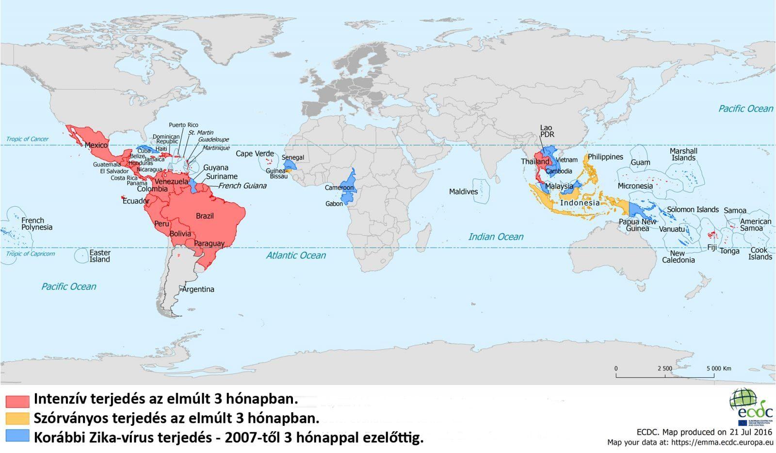 zika vírus fogyás