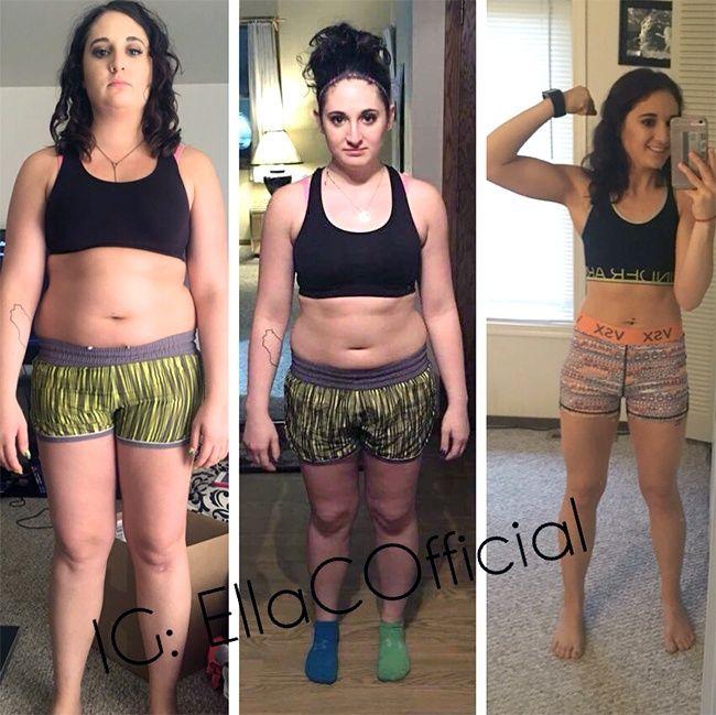 12 hetes súlycsökkenési átalakulások. 1 éves fogyás átalakulás