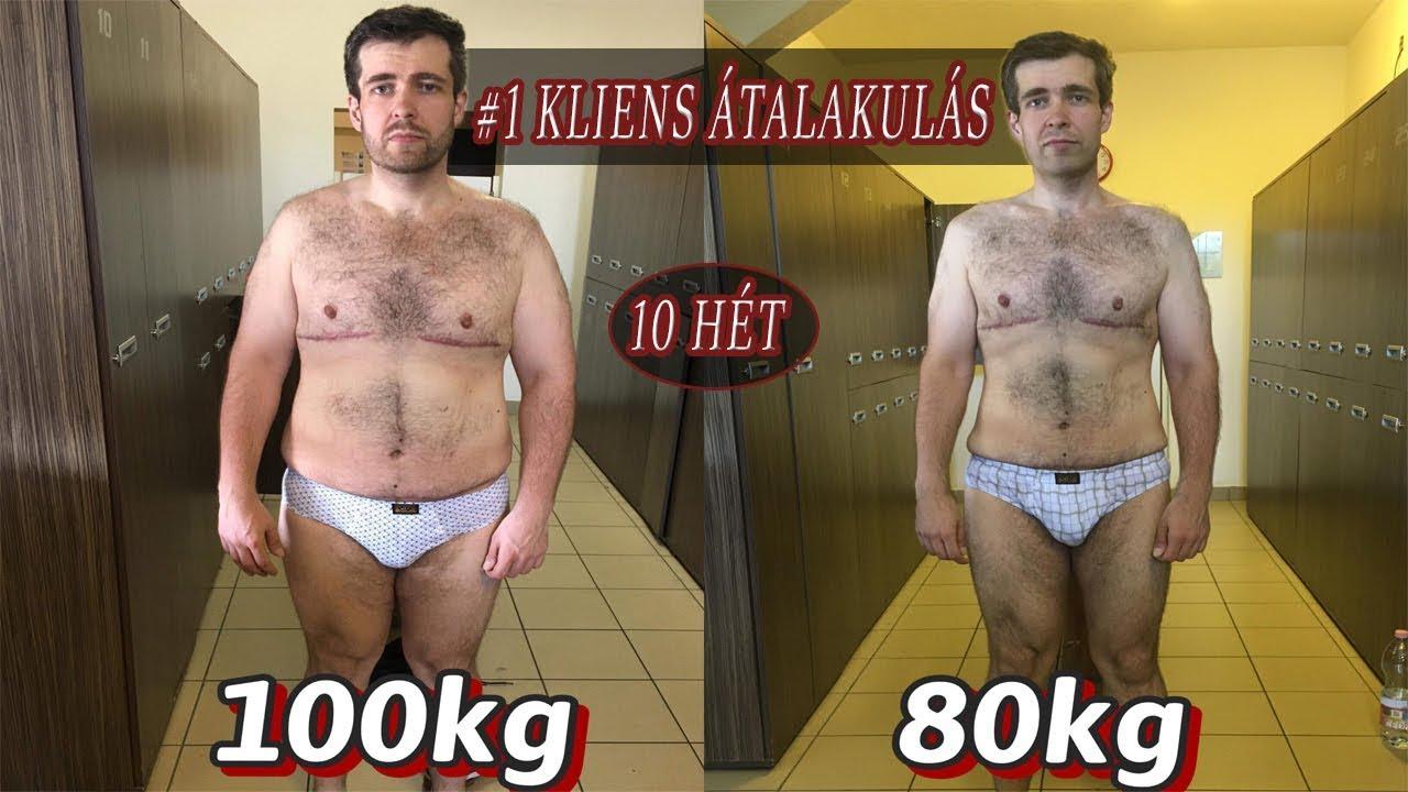 kis súlycsökkenés átalakulás