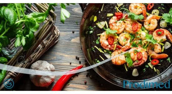 fogyás étkezés garnélával gnc zsírégető nincs idegesség