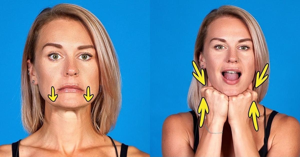 Fogyás arcról: szuperhatékony gyakorlatsor 8 lépésben