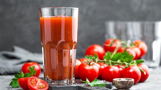 Paradicsomlé a fogyáshoz – diéta és böjt nap, az ital előnyei és az ellenjavallatok