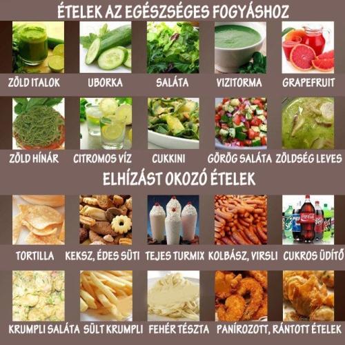 egészséges fogyókúra)