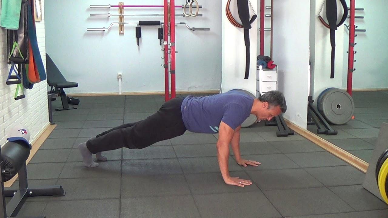 pushups és situps segíthet a fogyásban